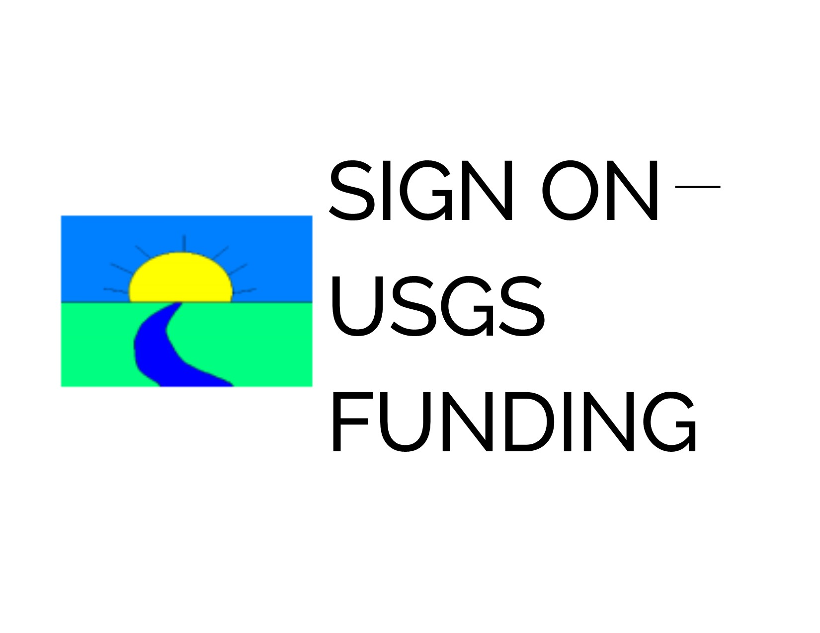 Sign On – USGS Data Collection Funding
